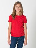 2201 - Youth Fine Jersey Short Sleeve T-Shirt