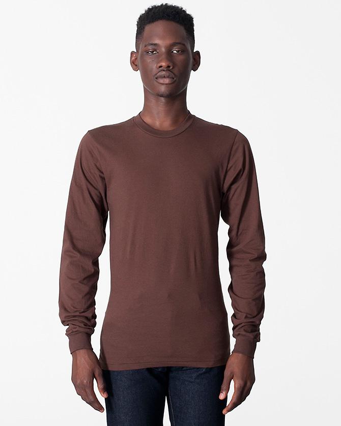American Apparel 4407 - Baby Rib Fitted Long Sleeve T-Shirt ... 3c3ac2de8e82