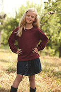 4930B - Youth HD Cotton™ Long Sleeve T-Shirt