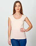 6322 - Sheer Jersey 2-Sided Top