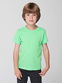 BB101W - Imported Kids Poly-Cotton Short Sleeve T-Shirt