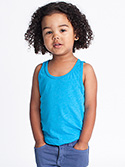 BB108W - Imported Kids Poly-Cotton Tank