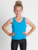 BB208W - Imported Youth Poly-Cotton Tank
