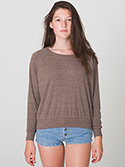 BR394W - Imported Tri-Blend Light Weight Raglan Pullover