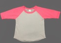 CA053 - Infant Poly-Cotton 3/4 Sleeve Raglan Made in USA