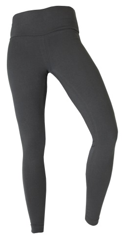 CA8350 - Cotton Spandex Wide-Waistband Leggings - Made in USA