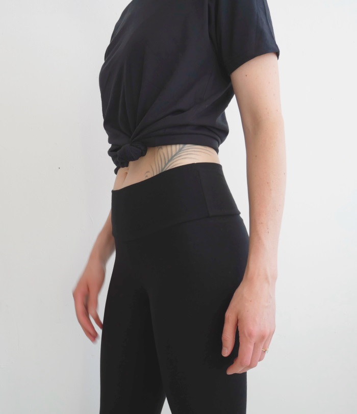 Crafted Apparel CA8350 - Cotton Spandex Wide-Waisted Jersey