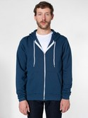 F497W - Imported Flex Fleece Zip Hoodie