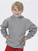 J996B - Youth Hooded Pullover Sweatshirt