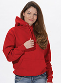 J996 - Adult Hooded Pullover Sweatshirt