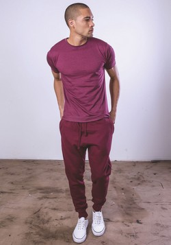 M7620 - Premium Fleece Jogger Pants w/ Rib Crotch Gusset