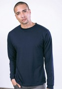 MC1182 - Premium Fitted Longsleeve Crew with Cuff