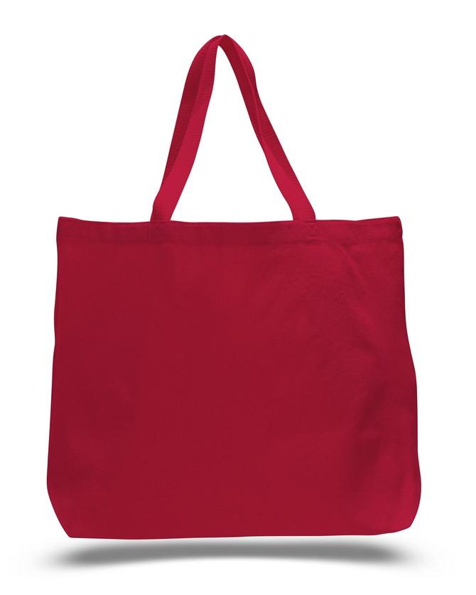 Q-TEES of California Q600 - Canvas Jumbo Tote Bag  5ccac48b69533