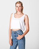 RSABB381W - Imported Loose Crop Tank