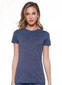 ST1410 - Women's CVC Poly-Cotton Crew Neck Short Sleeve T-Shirt