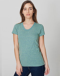 TR301W - Imported Tri-Blend Short Sleeve Women's Track T