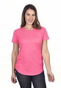 W1218 - Scallop Bottom Women's Tee