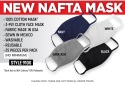 NAFTA 3-Ply Cotton Face Mask