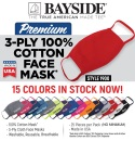 USA-Made 3-Ply Cotton Face Mask