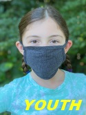USA-Made 3-Ply YOUTH Cotton Face Mask