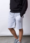 M7640 - 9 oz Fleece Rib Jogger Shorts