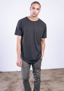 MC1050 - Premium Long T-Shirt w/ Scallop Bottom and Drop Tail